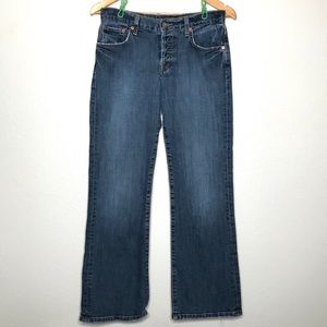 Lucky Brand Easy Rider Button Fly Jeans Made USA
